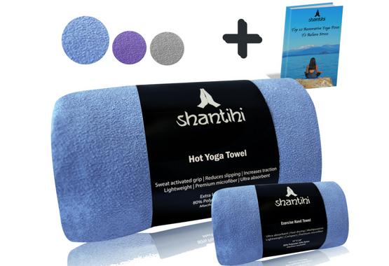 Shantihi Hot Yoga Towel