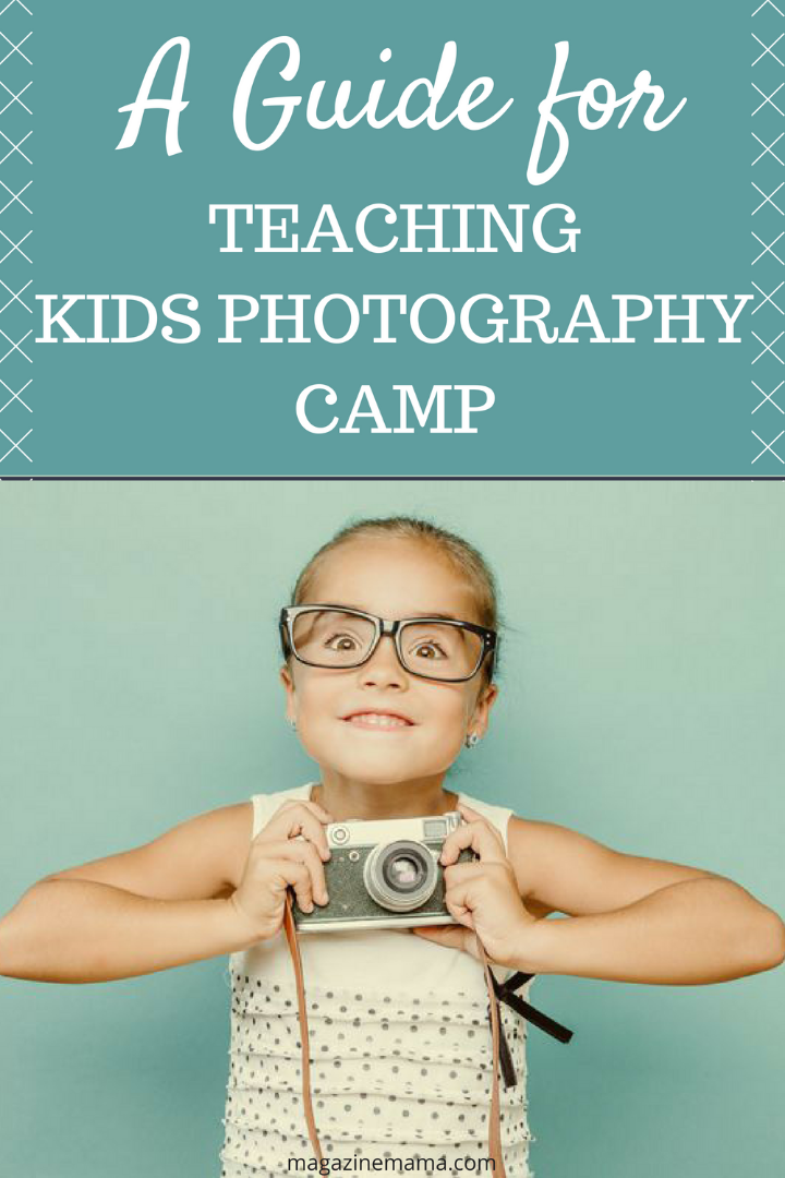 teaching kids photography camp