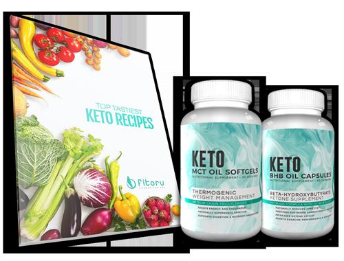 Fitoru Keto BHB OIL + MCT OIL + Keto Recipes