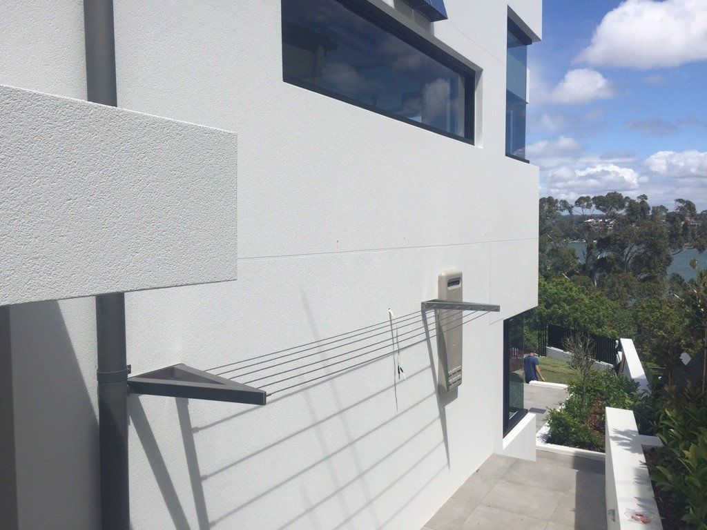 Evolution 316 Stainless Steel Folding Clothesline Installed Sydney NSW