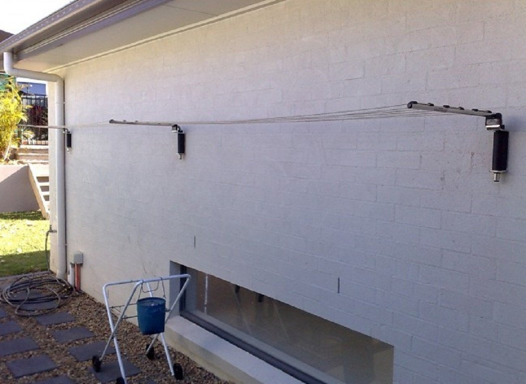 Versaline Broadline Removable Clothesline Installed Camden Sydney