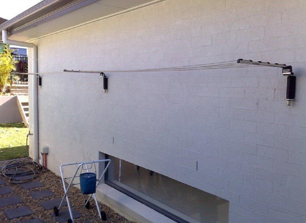 Versaline Broadline Removable Clothesline Installed Camden Sydney
