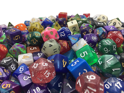 Polyhedral Dice for Dungeons and Dragons