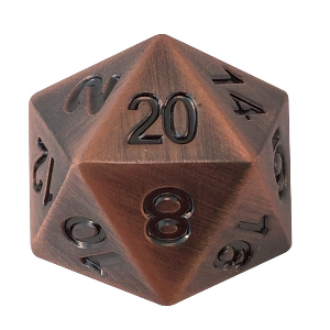 D20 Die for Dungeons and Dragons