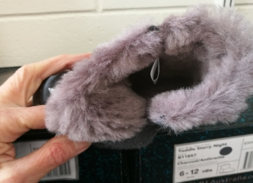 Emu infants slippers wool lining