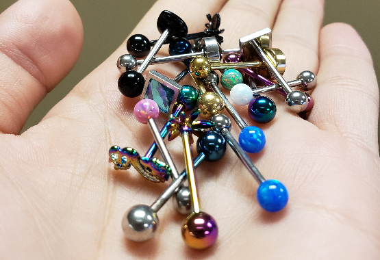 Body Candy Tongue Rings