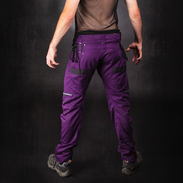 purple legion pants