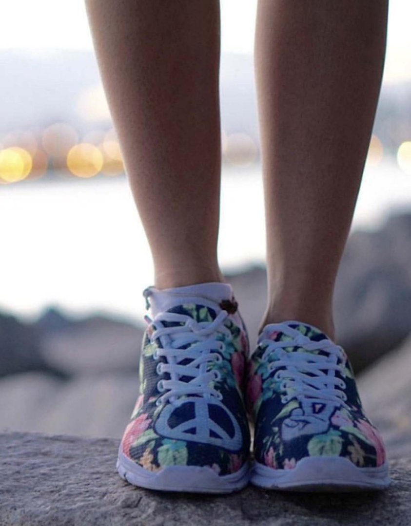 Bohemian Sneakers | Hippie Tennis Shoes | YesWeVibe