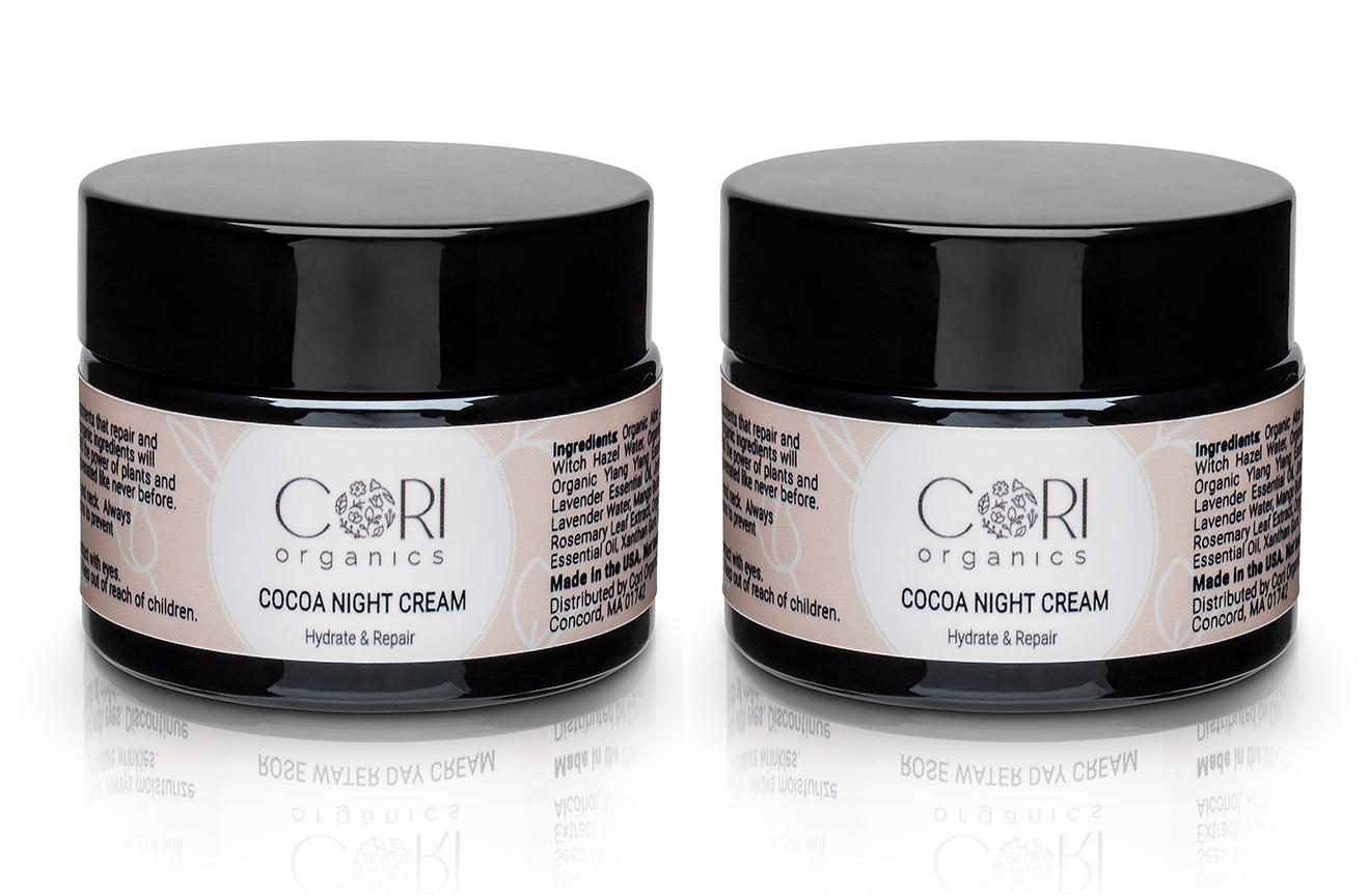 2 cocoa night cream
