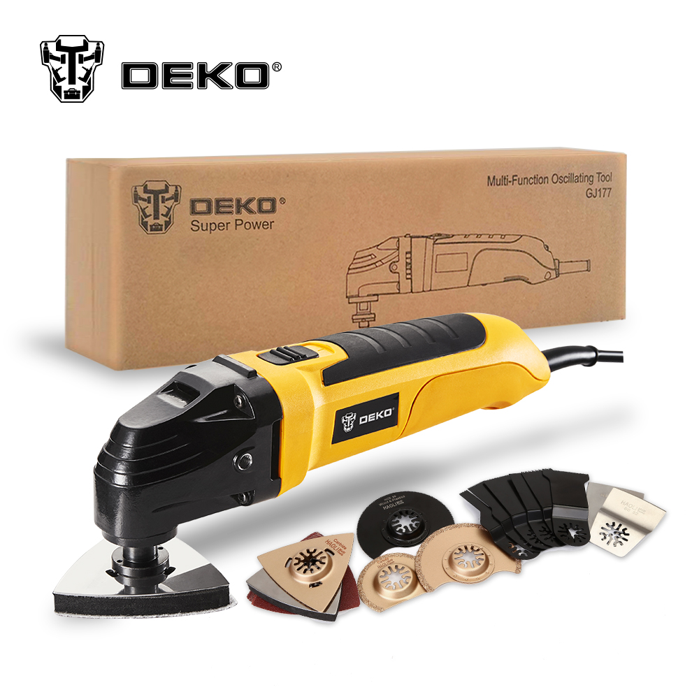 DEKO™ Multi-function Oscillating Tool Kit- Frequent Forage