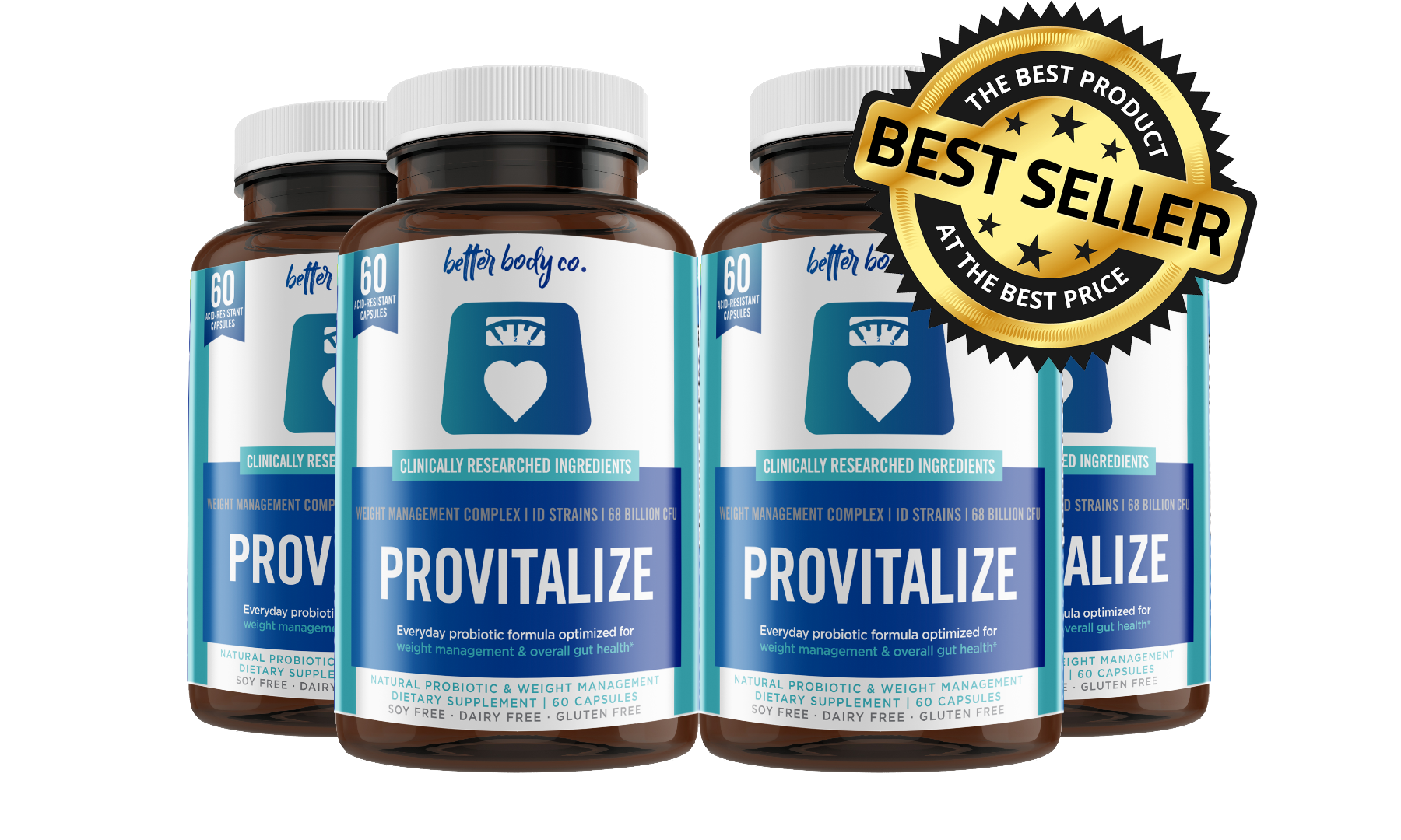 4 Bottles Provitalize