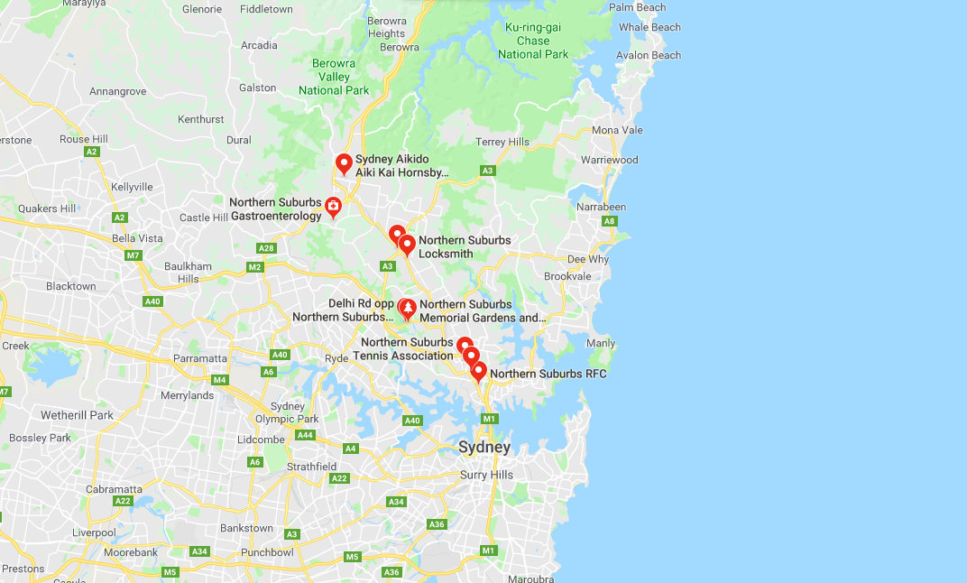 Clothesline Installation Service Area for Northern Suburbs Sydney