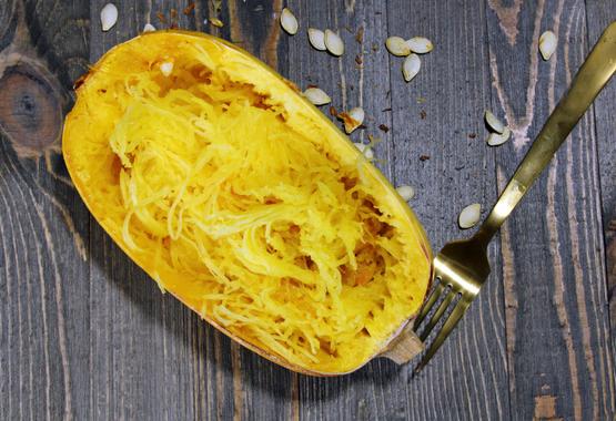 Spaghetti squash | AIP ground beef recipe