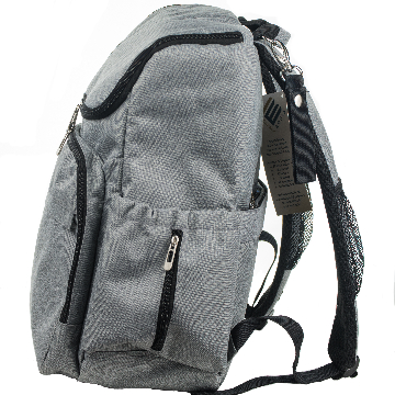 laptop backpack diaper bag right side