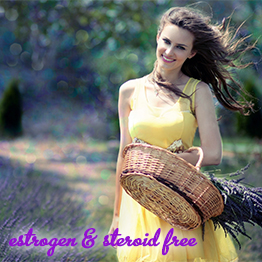 estrogen and steroid free