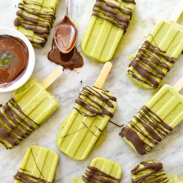 Matcha-Popsicle