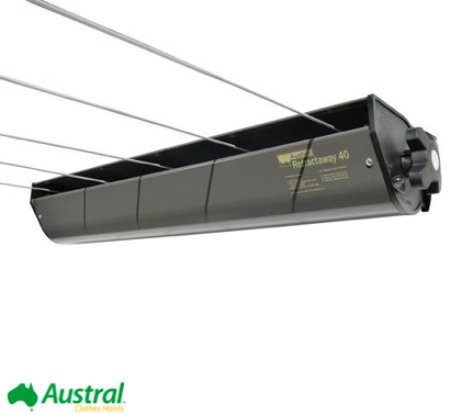 Austral Retractaway 40 retractable clothesline recommendation for sydney to canberra