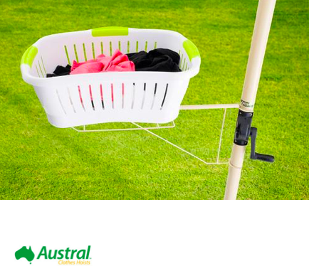 austral clothesline basket holder accessory recommendation for Tweed Heads - Byron Bay - Yamba Coast NSW