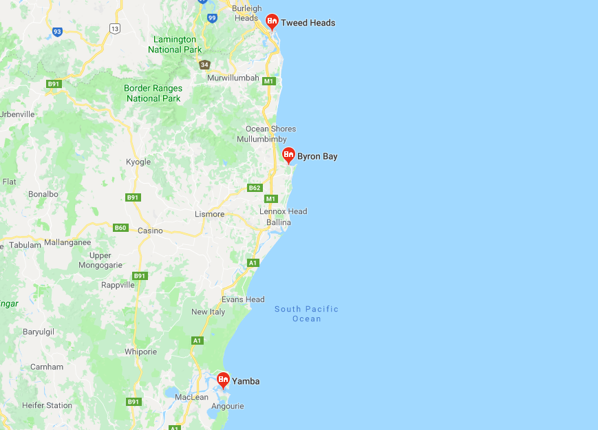 clothesline installation service area in Tweed Heads - Byron Bay - Yamba Coast NSW
