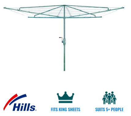 Hills hoist heritage 5 clothesline recommendation for Tweed Heads - Byron Bay - Yamba Coast NSW