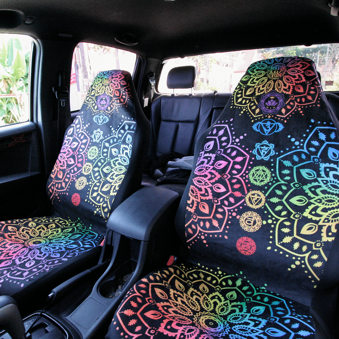 Spiritual Hippie Car Seat Covers - YesWeVibe