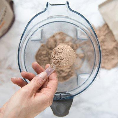 Ka'Chava protein powder scoop