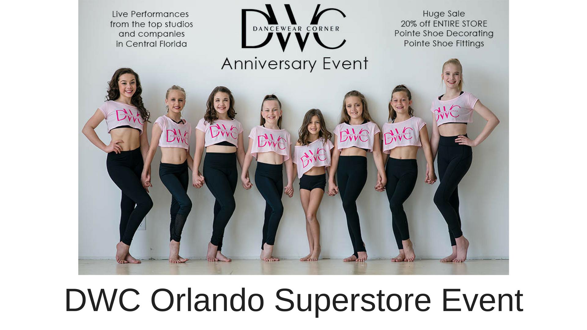 Dancewear Corner Anniversary Event