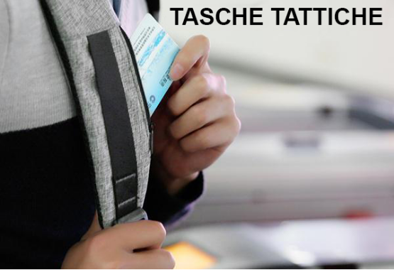 Zaino tattico Anti furto
