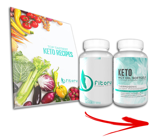 Fitoru Keto MCT OIL + Keto Recipes