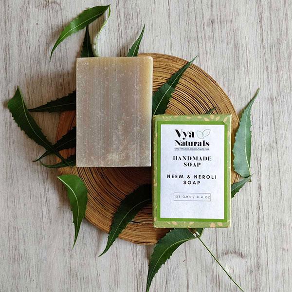 Neem & Neroli Soap