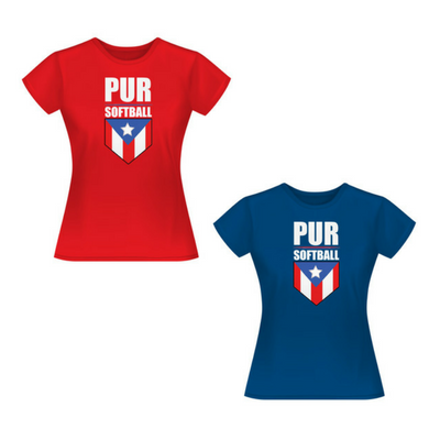 PURSoftball Women T-Shirt