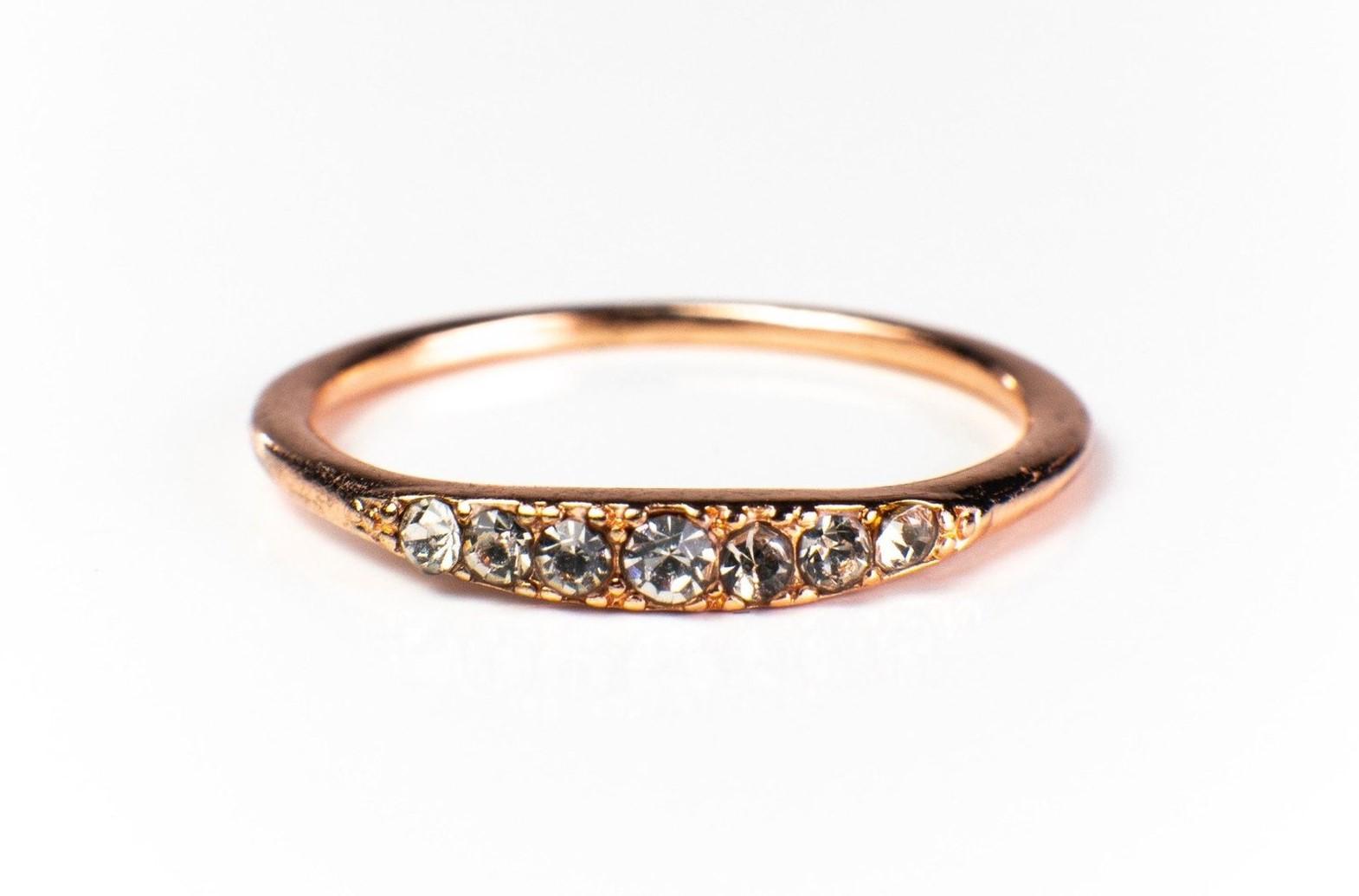 Kathleen Stack Ring 18K Gold Vermeil