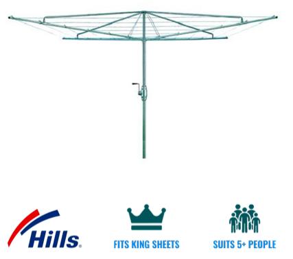 Hills hoist heritage 5 clothesline recommendation for inner suburbs melbourne