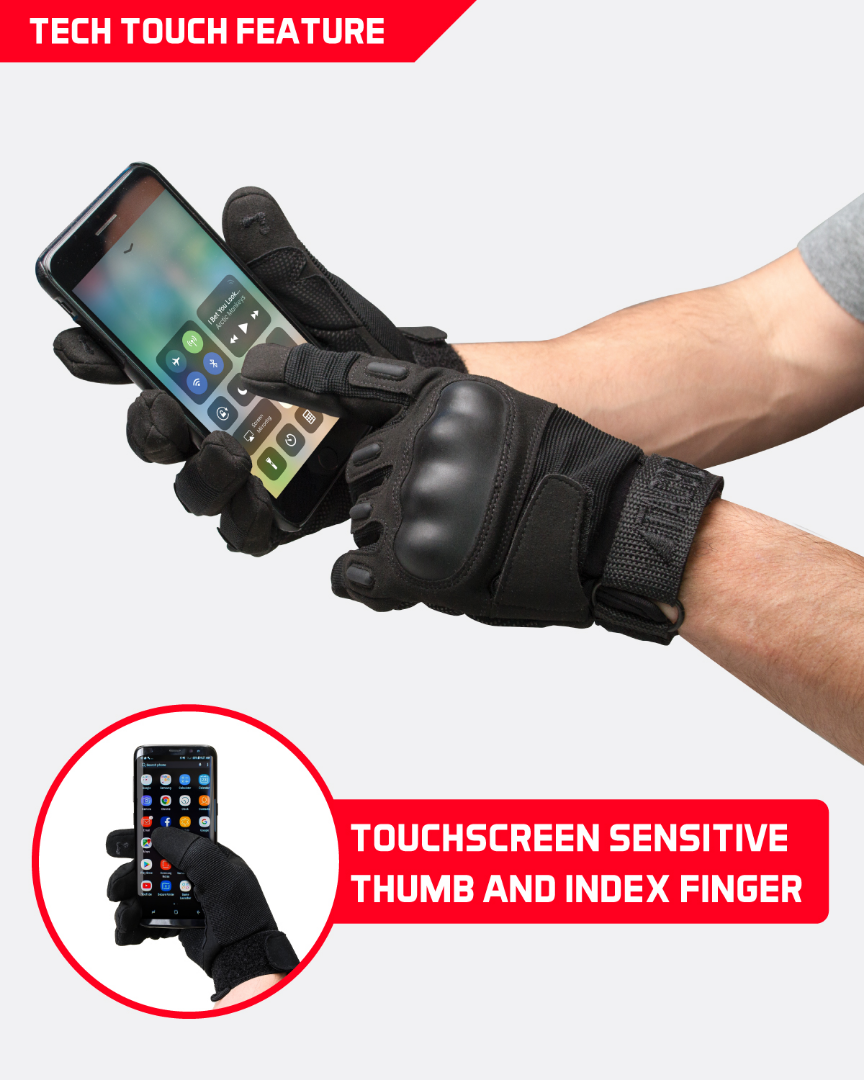 Tac9er Gloves Touch Smartphone