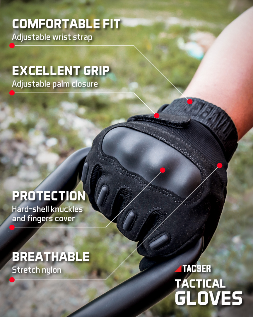 Tac9er Gloves Outdoor