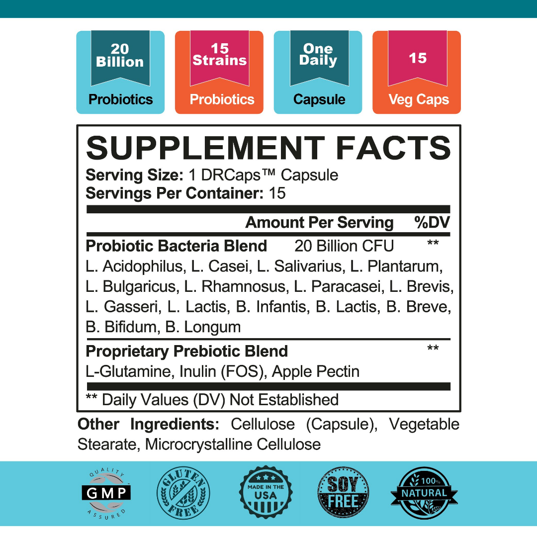 Highly Cultured Daily Supplement Facts