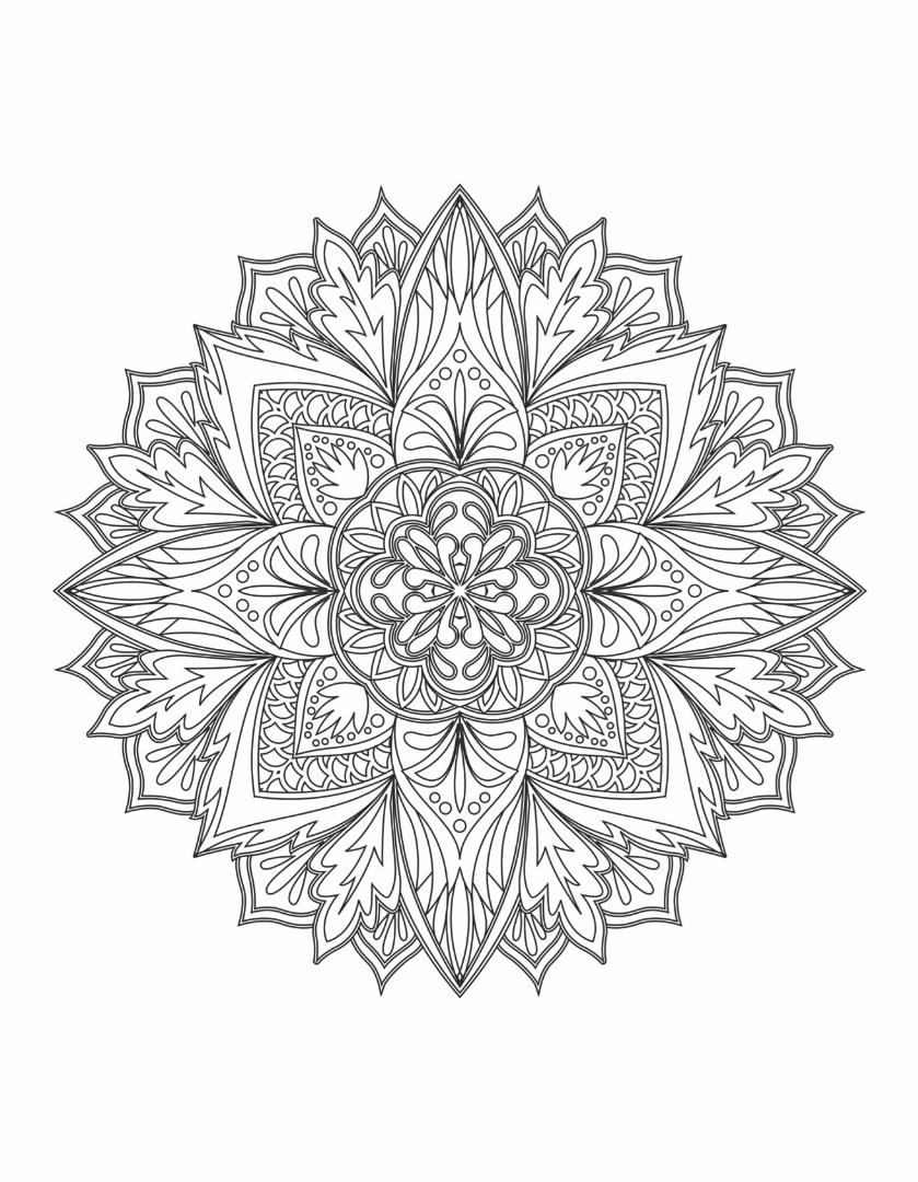 Mandalas To Color Vol 1
