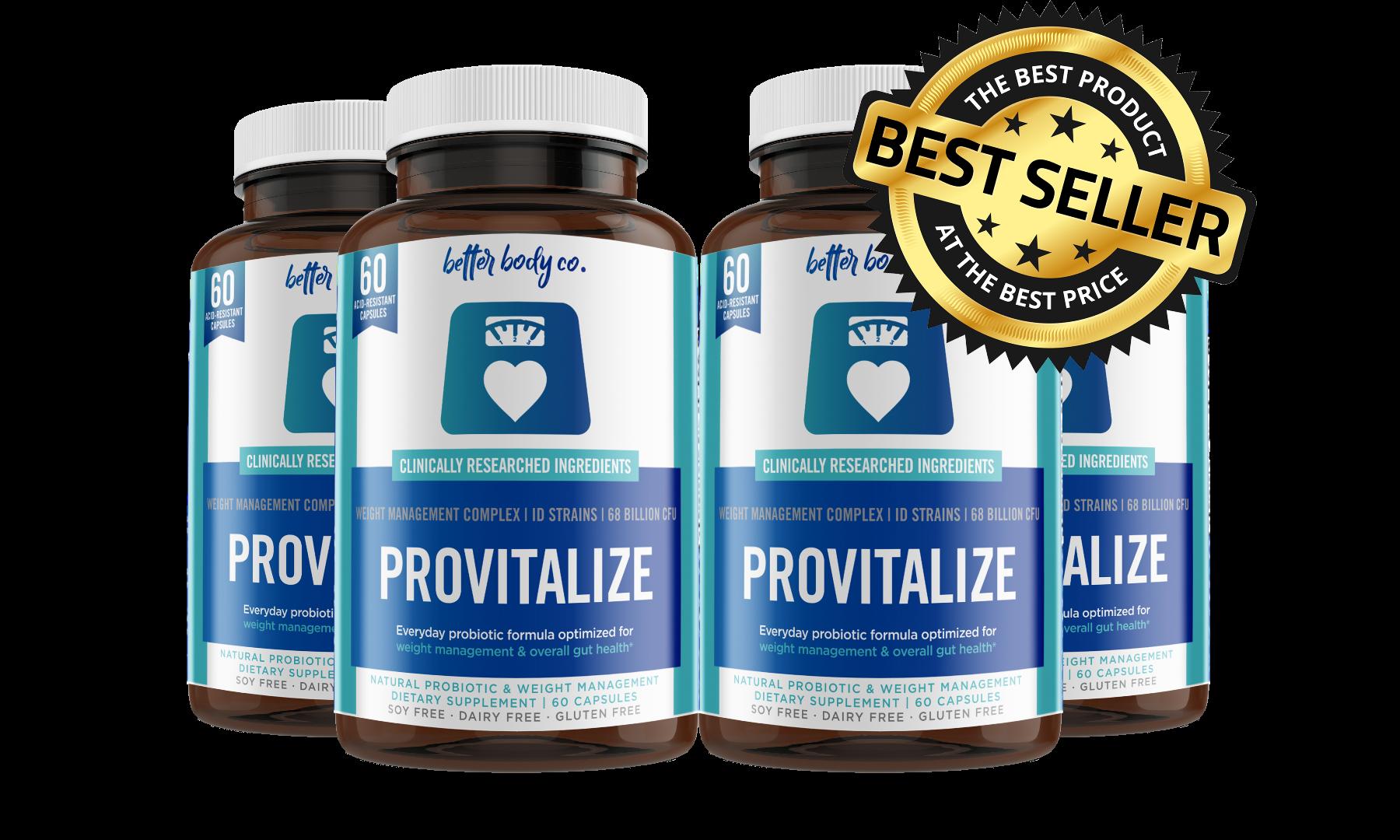 2 Bottles Provitalize4