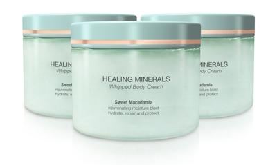 Healing Minerals Whipped Body Cream - Onsen Secret