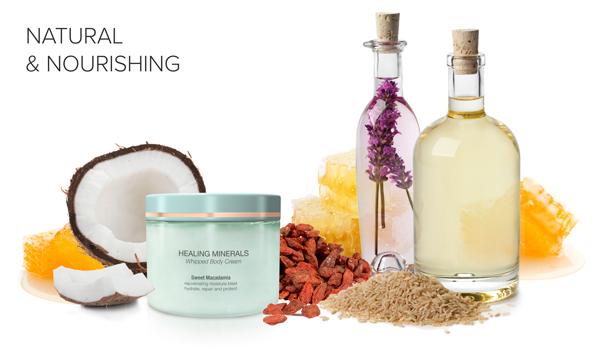Natural and nourishing ingredients