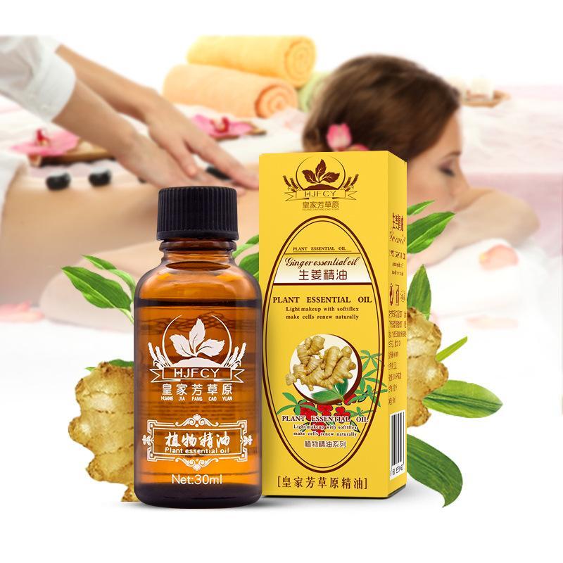 Premium Lymphatic Drainage Ginger Oil