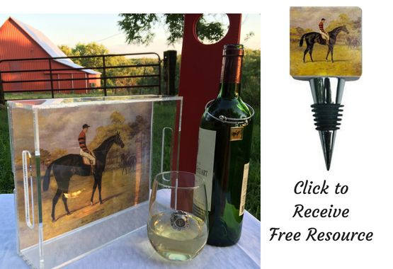 Vintage Race Horse Theme Gifts