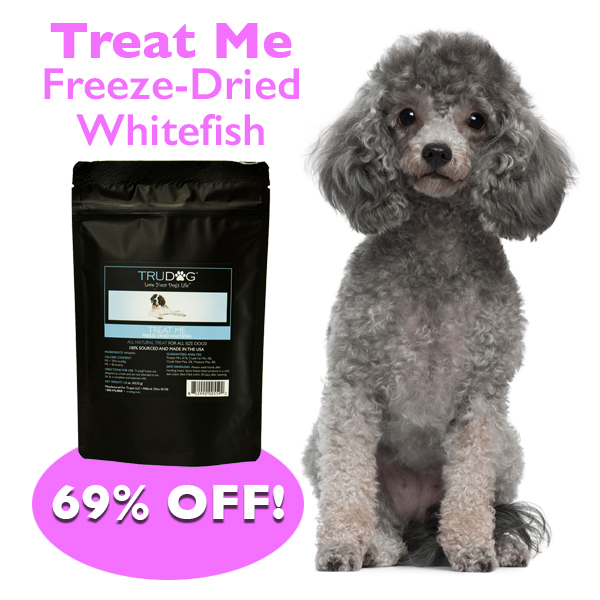 Daily Deal - Diced WhiteFish for Dogs