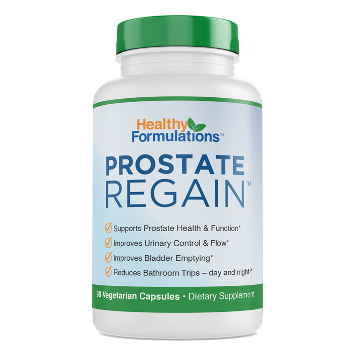 Prostate Regain FREE Bottle Best Prostate Supplement