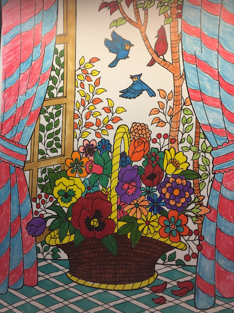 ColorIt Coloring Book Blissful Scenes