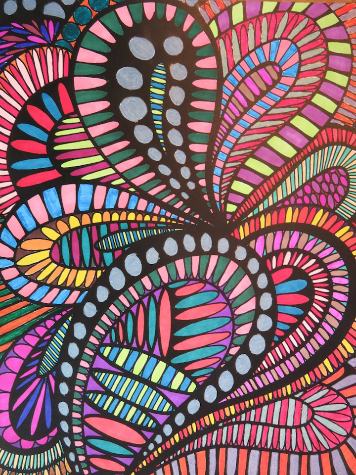 ColorIt Coloring Book Wild Doodles