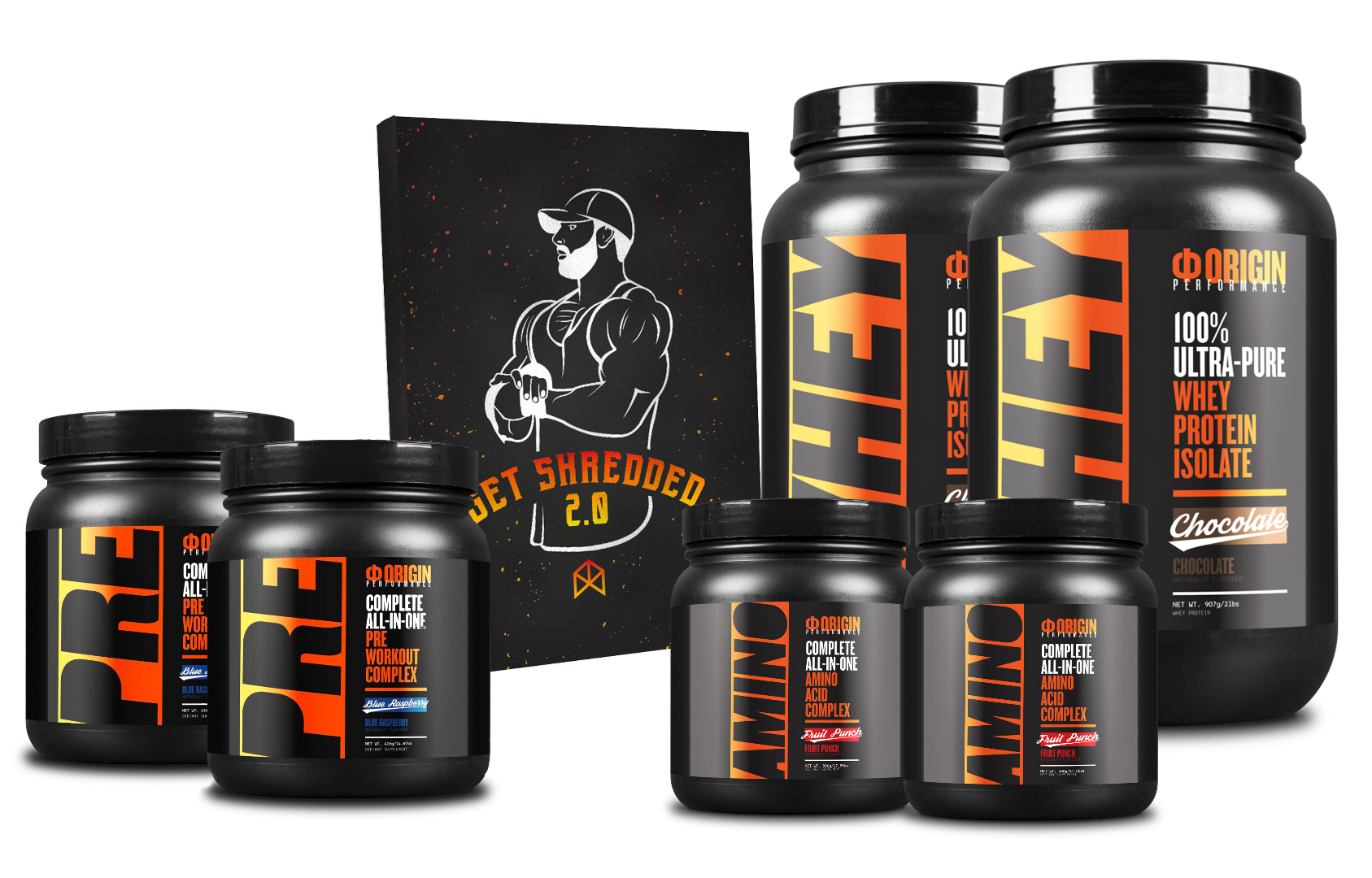 Origin Supps - Get Shredded Stack