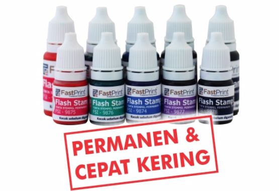 tinta stempel warna flash murah