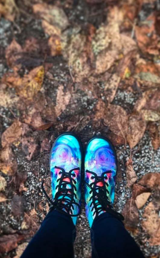 Happy Hippie In Colors! Boots - Men & Women - YesWeVibe
