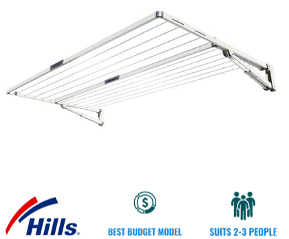 hills everyday double folding clothesline recommendation for eastern suburbs brisbane